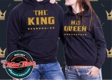 Mikiny The King - His Queen