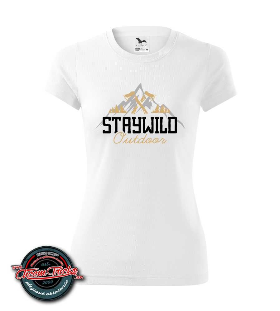 Tričko Cool-DRY Staywild