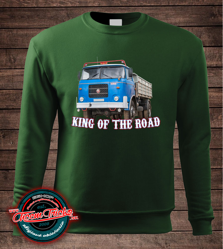 Mikina Liaz 706- King of the Road