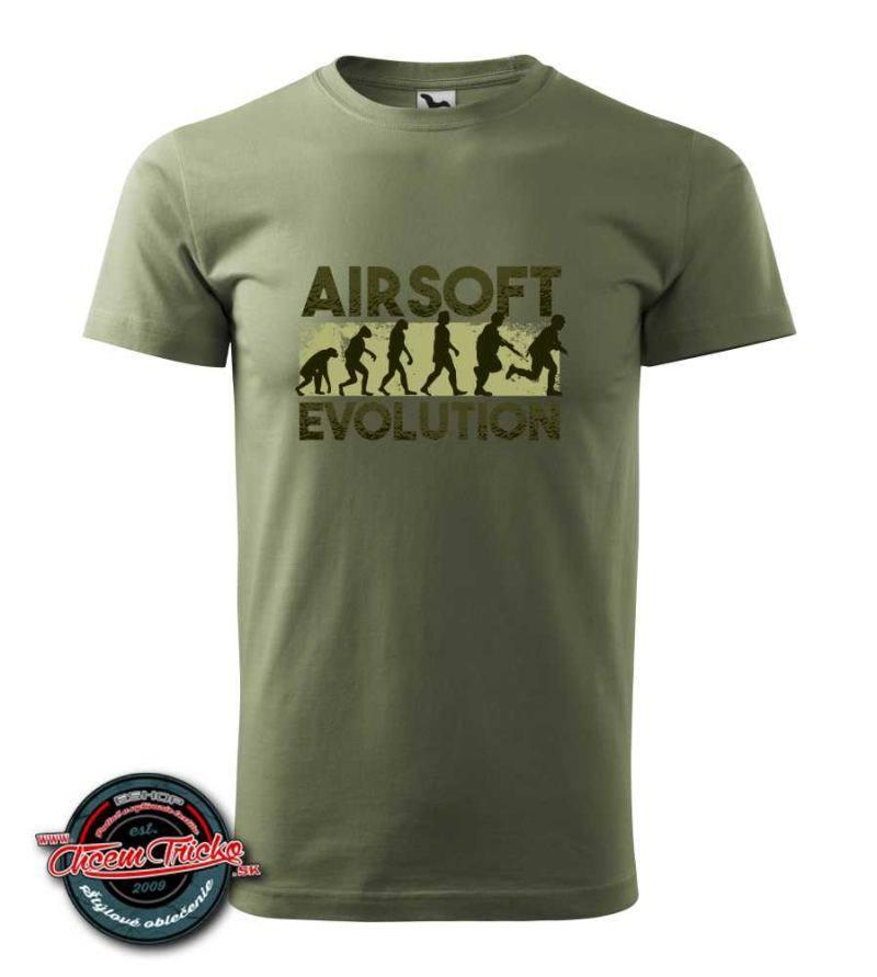Tričko Airsoft evolution