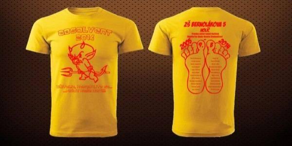 4ed510d92ad Absolventské trička