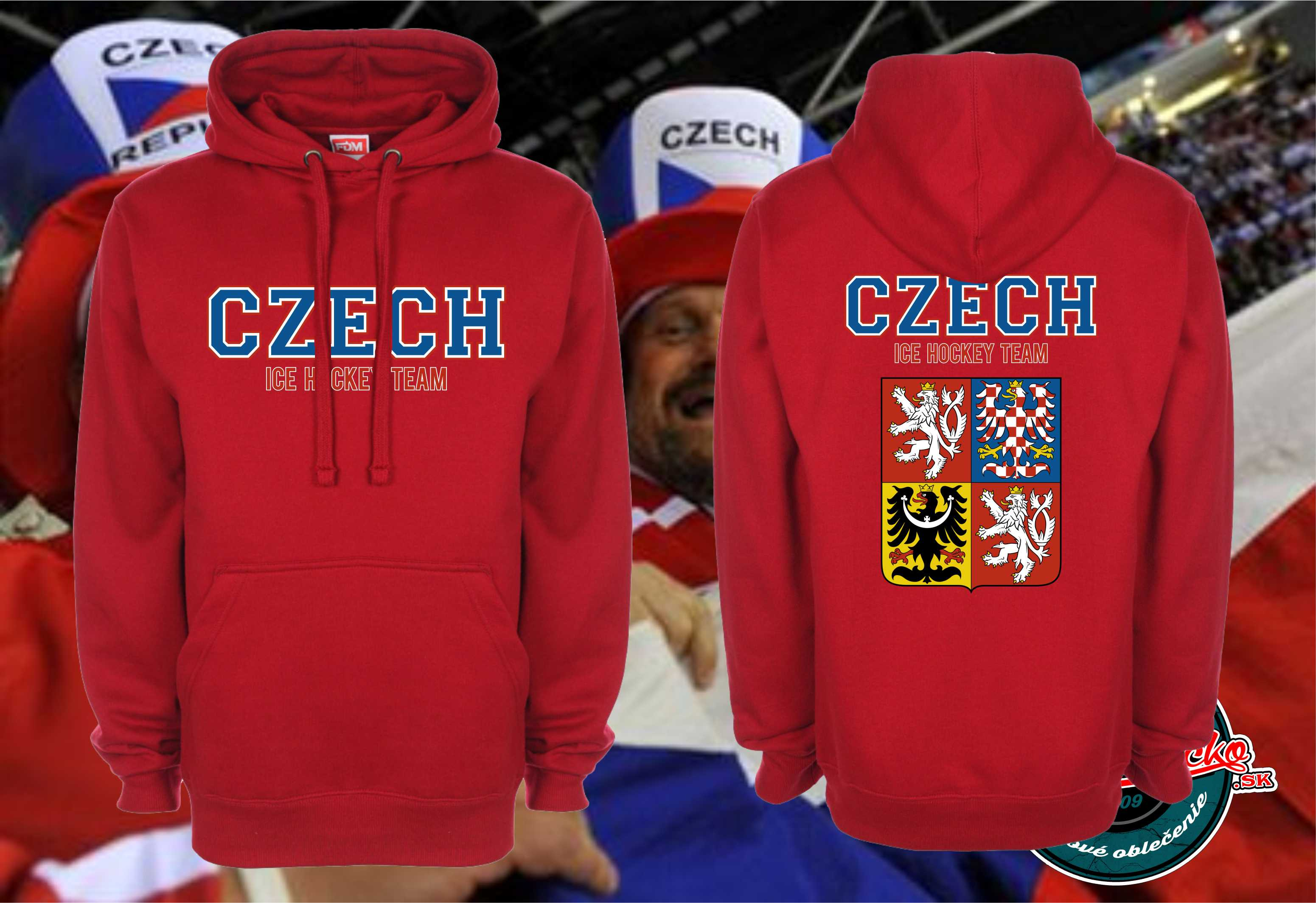 Mikina Czech ice hockey team