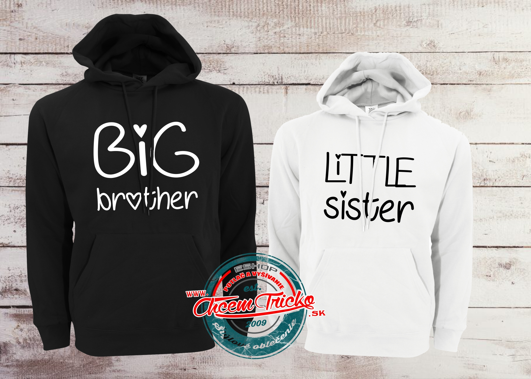 Mikiny Big brother/Little sister