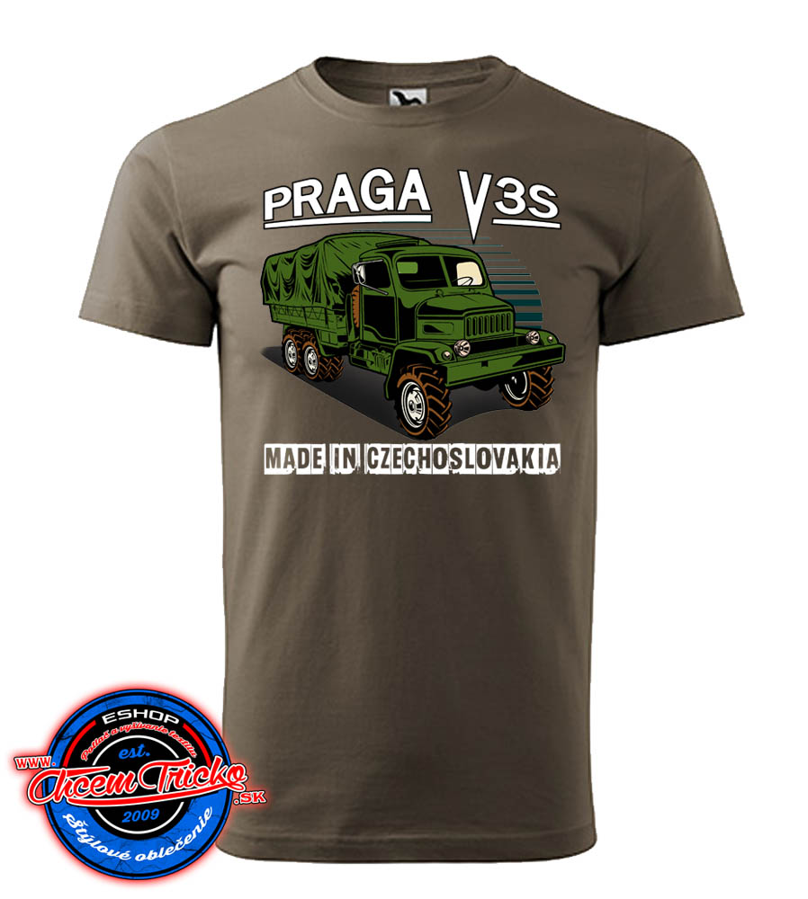 Tričko Praga V3S - Made in Czechoslovakia
