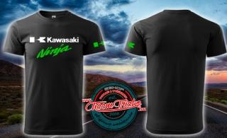 47592585aae2 Tričko s motívom Kawasaki Ninja
