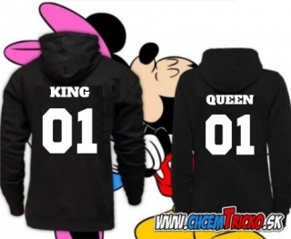 Mikiny King 01 Queen 01