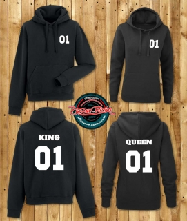 Mikiny King 01 Queen 01 /2