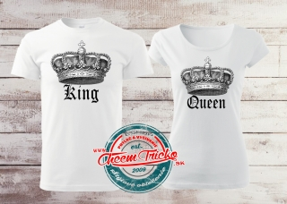Tričká King/Queen old